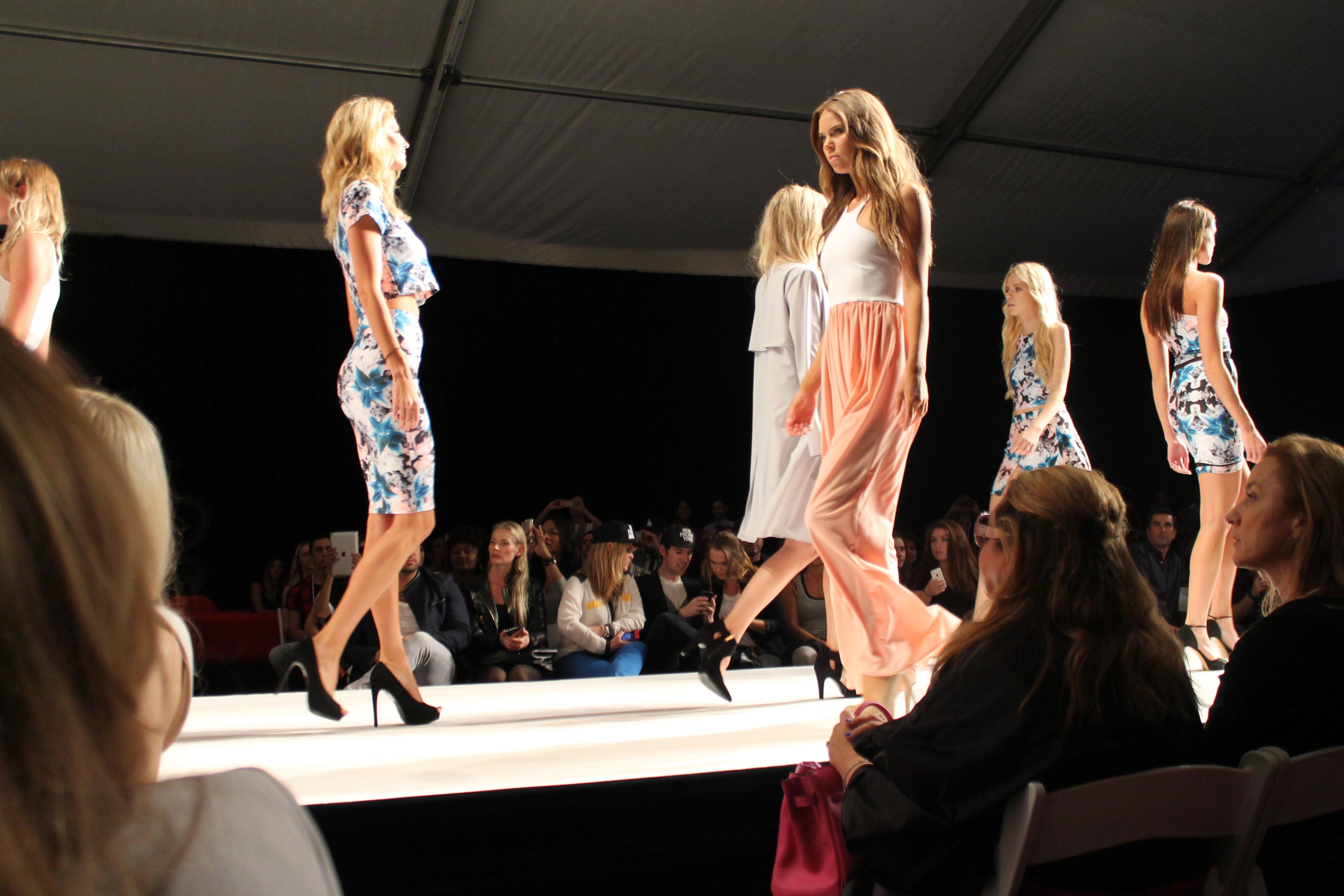 Los Angeles Fashion Week In Sienna 39 S Stilletos